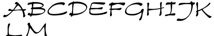 Zest Medium Font UPPERCASE