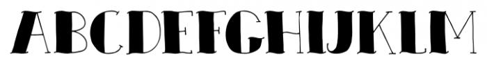 Zeebonk Regular Font UPPERCASE