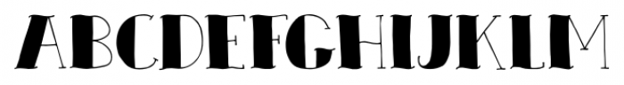 Zeebonk Regular Font LOWERCASE