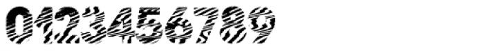 Zebramatic POW Font OTHER CHARS