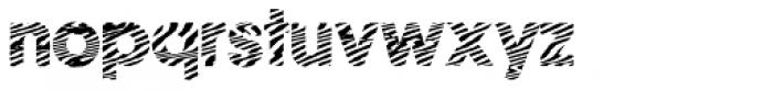 Zebramatic POW Font LOWERCASE