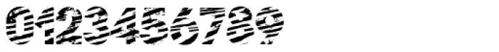 Zebramatic SLAM Font OTHER CHARS