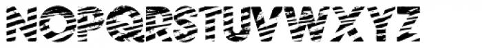 Zebramatic SLAM Font UPPERCASE