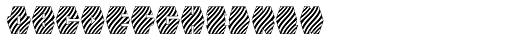 Zebraw Font LOWERCASE