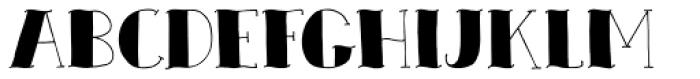 Zeebonk Font LOWERCASE