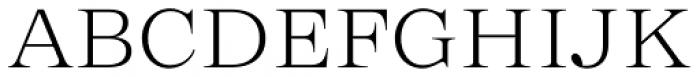 Zeit Extralight Font UPPERCASE