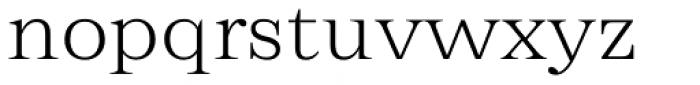 Zeit Extralight Font LOWERCASE