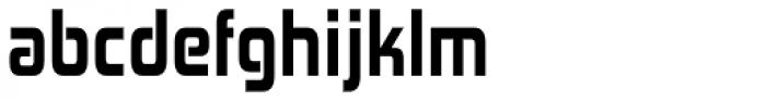 Zekton Condensed Heavy Font LOWERCASE