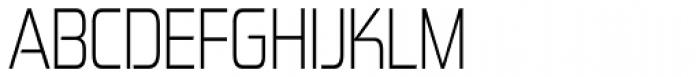 Zekton Condensed Light Font UPPERCASE