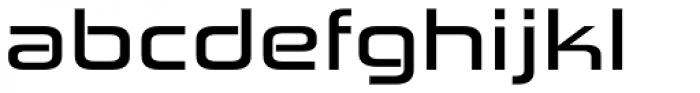 Zekton Extended Bold Font LOWERCASE