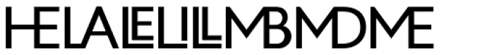Zelda Cap Ligatures Regular Font UPPERCASE