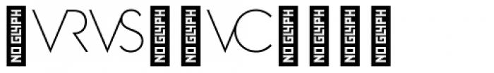 Zelda Cap Ligatures Thin Font OTHER CHARS