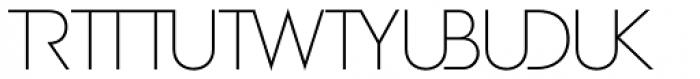 Zelda Cap Ligatures Thin Font LOWERCASE