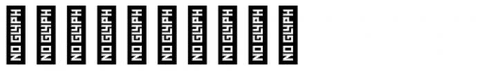 Zelda Narrow Bold Font OTHER CHARS