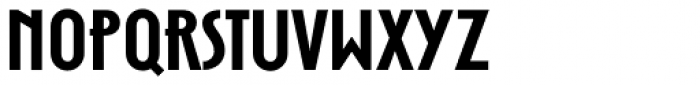 Zelda Narrow Demi Bold Font LOWERCASE