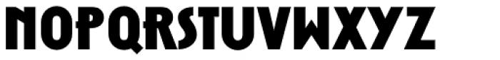 Zelda Narrow Extra Bold Font LOWERCASE