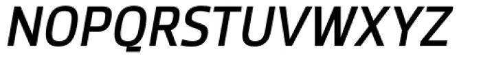 Zemestro Italic Font UPPERCASE