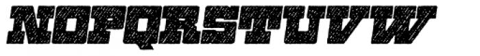 Zennat Pro Three Italic Font UPPERCASE