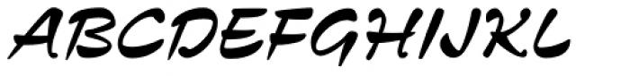 Zennor Std Font UPPERCASE