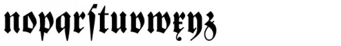 Zentenar Fraktur Halbfett Font LOWERCASE
