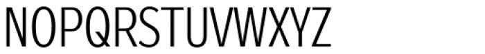 Zeppelin 21 Condensed Light Font UPPERCASE