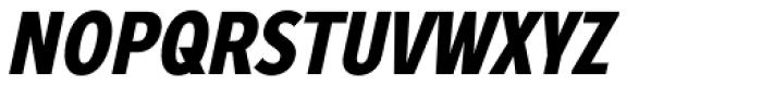 Zeppelin 22 Condensed Bold Italic Font UPPERCASE