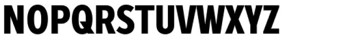 Zeppelin 22 Condensed Bold Font UPPERCASE