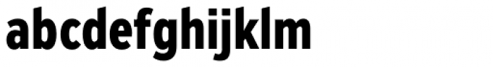Zeppelin 22 Condensed Bold Font LOWERCASE