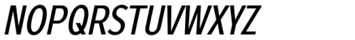 Zeppelin 22 Condensed Italic Font UPPERCASE