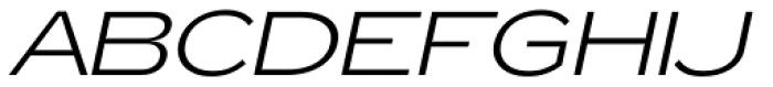 Zeppelin 41 Italic Font UPPERCASE