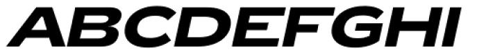 Zeppelin 42 Bold Italic Font UPPERCASE
