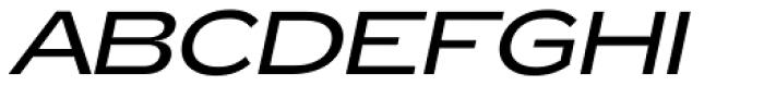 Zeppelin 42 Italic Font UPPERCASE