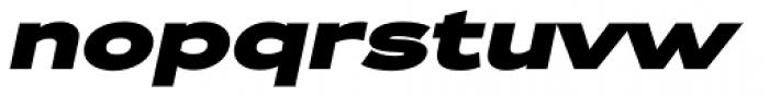 Zeppelin 43 Bold Italic Font LOWERCASE