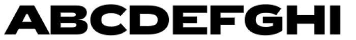 Zeppelin 43 Bold Font UPPERCASE