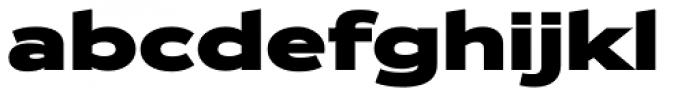 Zeppelin 43 Bold Font LOWERCASE