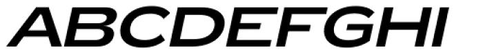Zeppelin 43 Italic Font UPPERCASE