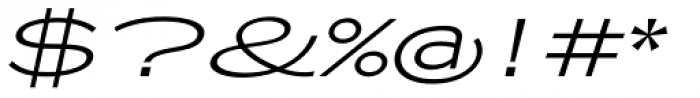 Zeppelin 51 Italic Font OTHER CHARS