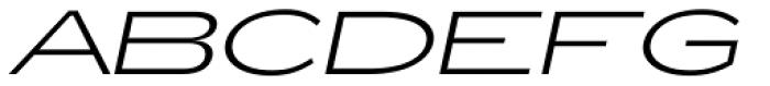 Zeppelin 51 Italic Font UPPERCASE