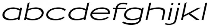 Zeppelin 51 Italic Font LOWERCASE