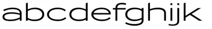 Zeppelin 51 Font LOWERCASE
