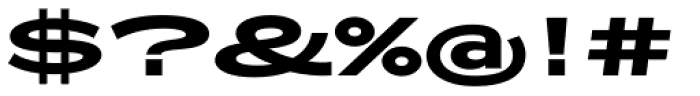 Zeppelin 52 Bold Font OTHER CHARS