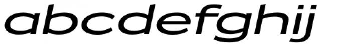 Zeppelin 52 Italic Font LOWERCASE