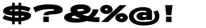 Zeppelin 53 Bold Font OTHER CHARS