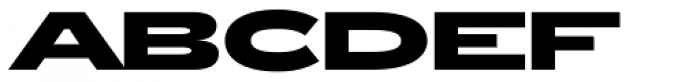 Zeppelin 53 Bold Font UPPERCASE