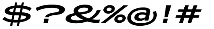 Zeppelin 53 Italic Font OTHER CHARS