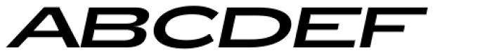 Zeppelin 53 Italic Font UPPERCASE