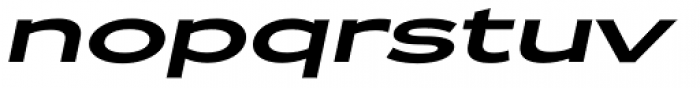 Zeppelin 53 Italic Font LOWERCASE