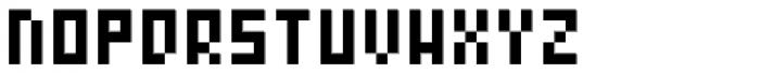 Zepto Font UPPERCASE