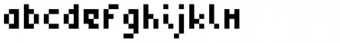 Zepto Font LOWERCASE