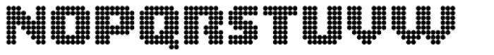 Zerbydoo Circle Font UPPERCASE